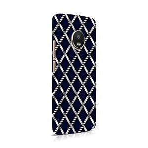 Cover Affair Pattern Printed Designer Slim Light Weight Back Cover Case for Moto G5 Plus/Motorola G5 Plus (Black & White) (Group 3-D154)