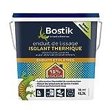 Bostik Enduit de Lissage isolant thermique - Seau de 12, 5L