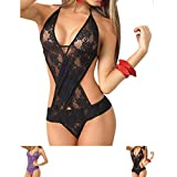 Mesdames Pyjamas sauvages Harness Perspective Backless Sexy lingerie Uniform - 2