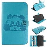 Skytar Etui Samsung Tab 3 8.0,Protection pour Tablette Galaxy Tab3 8'',[Série Panda]...