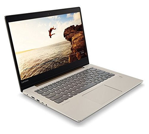 Lenovo 520S 14 inch screen laptop notebook for everyday use for home office work school students gaming woman man kids (Intel Core i3, RAM 8GB, 128GB SSD) in Bronze/Grey colour combination