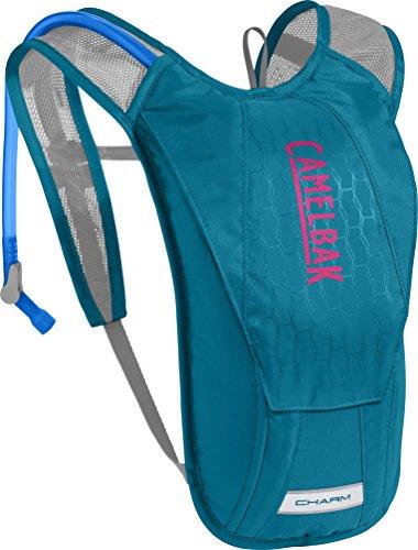 Camelbak Charm Mochila de Hidratación, Mujer, Azul (Teal) / Rosa, Talla Única
