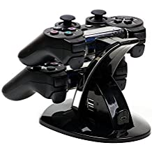 MP power @ Dual Docking Station dock cargador para Playstation 3 PS3 gamepad