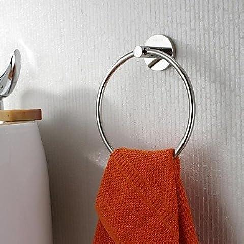 haisi accesorios de baño/toallero/Racks/gancho/Pasta de dientes/cepillo/Fein dispensador de jabón caja Toalla Anillos estilo contemporáneo pared clásico–befestigend