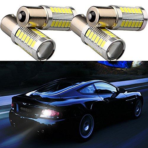 Preisvergleich Produktbild Grandview 1157 BAY15D 5730 33-SMD Bernstein,  900 Lumen,  8000 K,  Super helles LED,  Rücklicht,  Bremslicht,  Blinker,  12 V