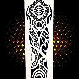 ZUNTO maori tanz Haken Selbstklebend Bad und Küche Handtuchhalter Kleiderhaken Ohne Bohren 4 Stück