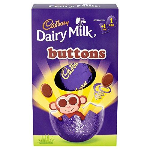 Cadbury Dairy Milk Buttons Easter Egg Medium 128G