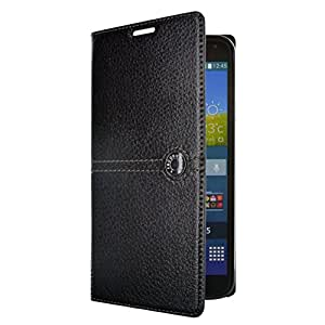 Façonnable FACO0014 Etui folio cache-batterie pour Samsung Galaxy S5 Noir