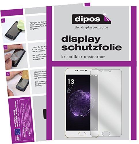 dipos I 6X Schutzfolie klar passend für Allview X4 Soul Style Folie Bildschirmschutzfolie