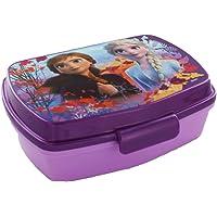 stor Frozen Lot de 2 boîtes à sandwich rectangulaires pour repas Unisexe Adulte, Multicolore