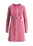 Blutsgeschwister Damen Swinging Occident Dress Langärmeliges Kleid Jacquard-Sweat First Class Cabin XL