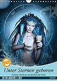 Unter Sternen geboren - Fantasy Tierkreis im Zeichen der Frau (Wandkalender 2019 DIN A4 hoch): Die magische Verbindung von Sternzeichen und Frauen auf ... (Monatskalender, 14 Seiten ) (CALVENDO Kunst)