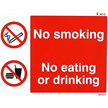 CCTV IN OPERATION NO SMOKING EATING OR DRINKING in this Vehicle Taxi 100 x 35 mm