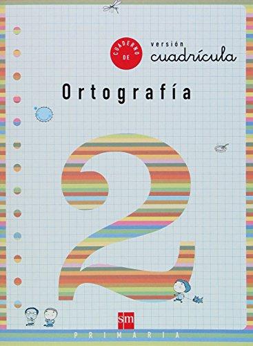 Cuaderno 2 de ortografía, Cuadrícula. 1 Primaria - 9788434893610