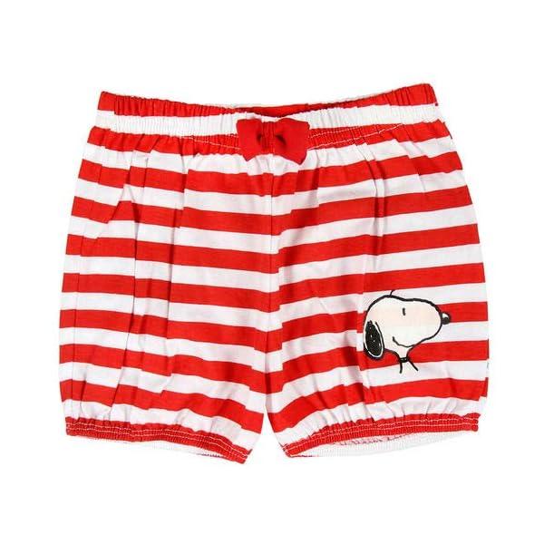ARTESANIA CERDA Pijama Corto Single Jersey Snoopy Conjuntos Bebés 5