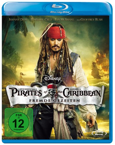 Pirates of the Caribbean - Fremde Gezeiten [Blu-ray]