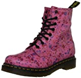 Dr. Martens 1460 Little Flowers Acid Pink 11821653, Damen Stiefel, Pink (Acid Pink), EU 39 (UK 6)