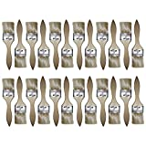 Kurtzy Set 24 Piezas Brochas para Pintar - Brochas Planas