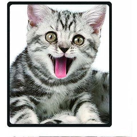 Dalliy Coperta in Pile Gatto Cat Fleece Blanket 50