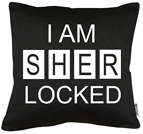 TLM I am Sherlocked Kissen mit Füllung (Die Ermittler Kostüm)