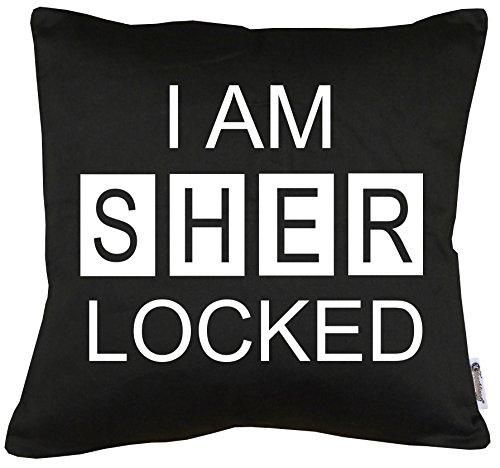 TLM I am Sherlocked Kissen mit Füllung 40x40cm
