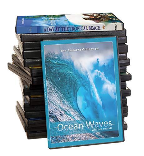 Strand DVD Supersale Kollektion - 14 Disc Set von Strand HD Videos mit Ozean Wellen Geräuschen (Strand Videos)