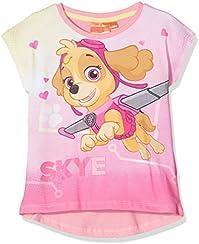 Nickelodeon Girl's Paw Patrol Flying Skye T-Shirt, Purple, 2-3 Years (Manufacturer Size: 3 Years)