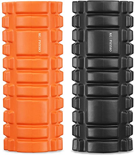 Foam-roller-KG-PHYSIO-Trigger-Point-Massage-Roller-For-Muscle-Massage-Grid-Roller-Design-13x5
