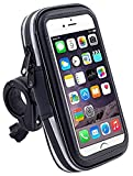 DaoRier Agua Densidad Bicicleta Moto Bike Carcasa universal Soporte Bicicleta Manillar Soporte para teléfono móvil impermeable para iPhone 4 4S 5 5 C 5S (4,0 pulgadas)