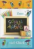 Glückwunschkarte Geldgeschenkkarte Schulanfang Einschulung 61-7140-4