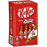 #6: Kitkat Singles Milk & Cocoa Chocolate Bars 10 X 15.2g, 152g