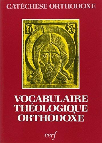 Vocabulaire de théologie orthodoxe par Paula Minet