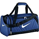 Nike unisex-adult Brasilia 6 Duffel Bag Duffel Bag, Blue (Game Royal / Black / White), XS