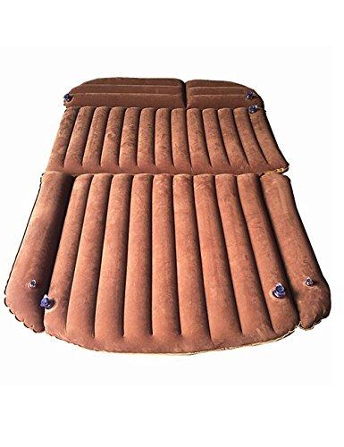 Galexbit Aufblasbare Luftmatratze fürs Auto, für Mittagessen, Strand, Camping und Reisen braun