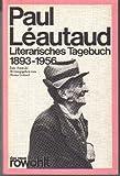 Literarisches Tagebuch 1893-1956.
