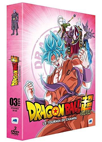 Coffret dragon ball super, vol. 3 : le tournoi de champa, épisodes 28 à 46