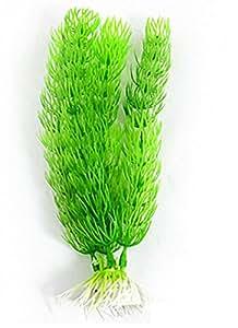 Ruichy Piante verde artificiale di plastica per carro armato di pesci Ornament, 19 centimetri