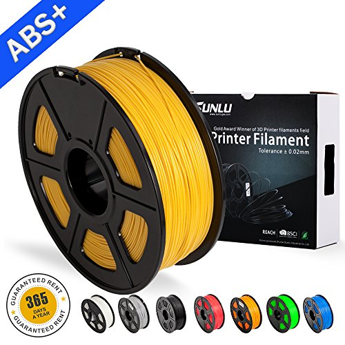 Abs Gold Fashionable And Attractive Packages 3d Printer Filament Go 3d