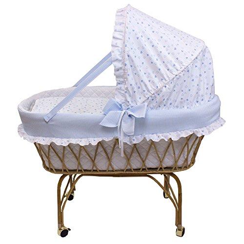 Babysanity - culla in vimini neonato