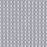 Fabulous Fabrics Steppstoff Große & Kleine Kreise – grau