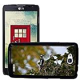 hello-mobile Bild Hart Handy Schwarz Schutz Case Cover Schale Etui // M00137320 Buntspecht Vogel // LG Optimus L90 D415
