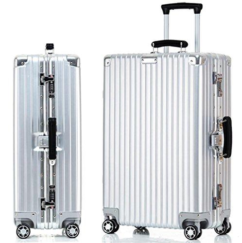 Bagagli della cassa ruote telaio in alluminio Trolley Caster Universal Travel , 4 , 20 inch
