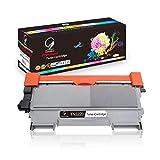 Gootior Kompatible Toner TN2220 TN-2220 TN2010 Für Brother MFC-7460DN HL-2250DN HL-2270DW HL-2240D MFC-7360N DCP-7070DW HL-2240 DCP-7060D DCP-7065DN HL-2132 DCP-7055 fax-2940 Drucker Schwarz, 2600 Seiten
