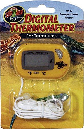 Zoo Med TH-24E Digital Thermometer für Terrarien