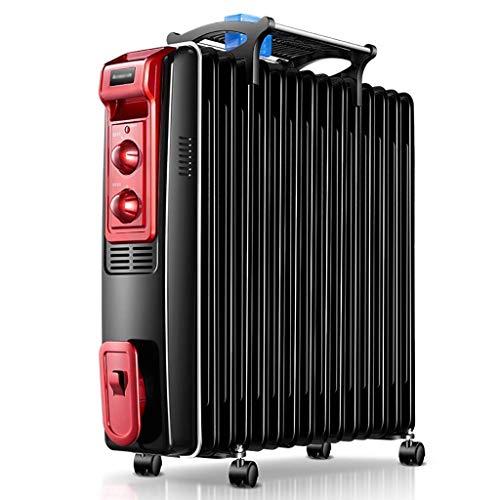 XKHG Radiatore,Radiatore Ad Olio - 2500W Radiatore Portatile A Olio, 15 Elementi con 3 Regolazioni Termiche E Controllo Termostato. Design Esclusivo.