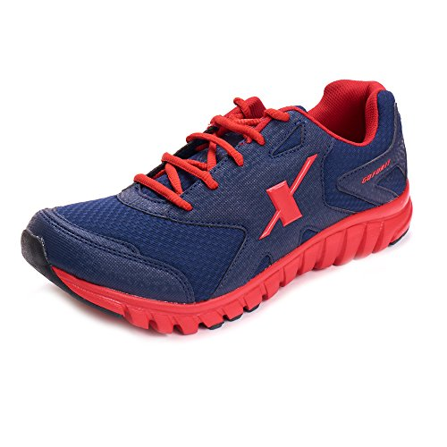 Sparx Men Sports Shoes ( SM-185-BLUE-RED-8 )