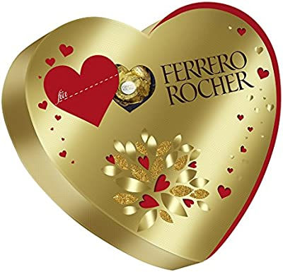 Ferrero Rocher - Heart Box - 125g