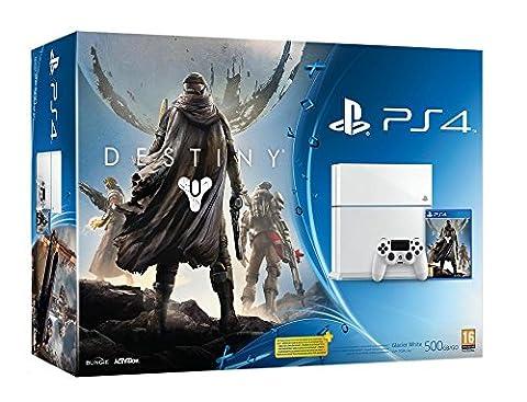 Pack PS4 500 Go C Noire + Destiny : Le