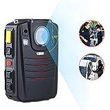 SFHK HD Polizei Nocken Audio Video Recorder 2.0 LCD Nachtsicht Video Karosserie Kamera 1296P 64G / 128G,128G