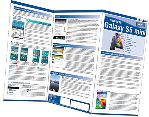 Samsung Galaxy S5 mini - der leichte Einstieg!: Alles auf einen Blick. Leicht verständlich erklärt! (Wo&Wie)